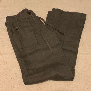 Anthropology Sanctuary Linen Pants